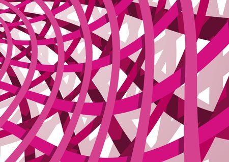 overlapping: abstract background Illustration