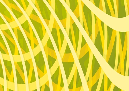 braiding: abstract background Illustration