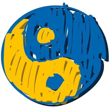 taoism: symbol Ying  yang