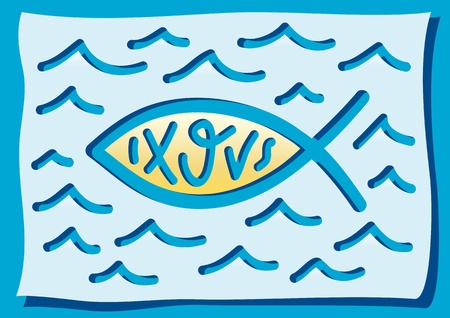 believer: fish, a Christian symbol