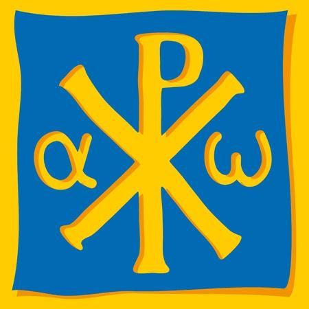キリスト教のシンボル  イラスト・ベクター素材