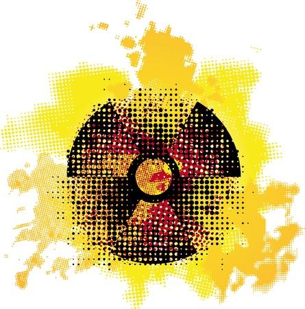 radioactive symbol Stock Vector - 10737078