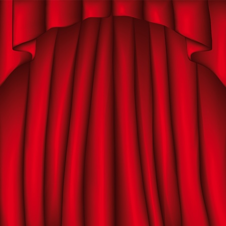 stage curtain: Curtain