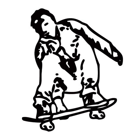 skatepark: skater