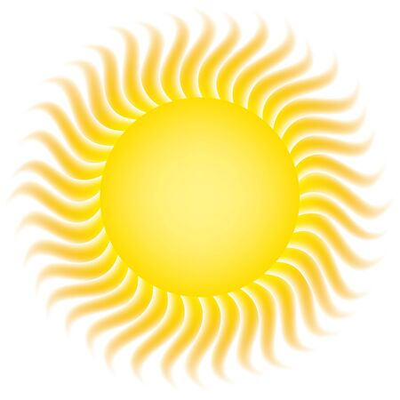 irradiation: sun Illustration