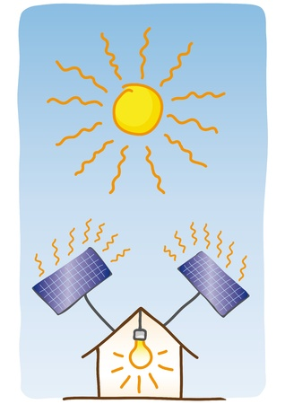 solar energy Stock Vector - 10736589