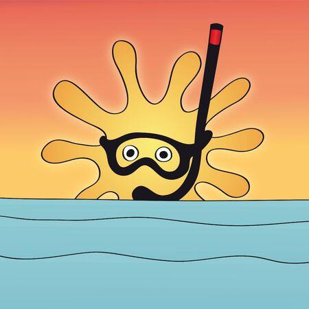 solar heating: sun and sea