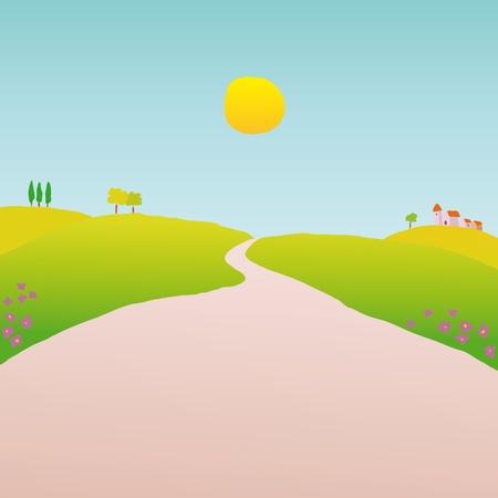 hamlet: countryside