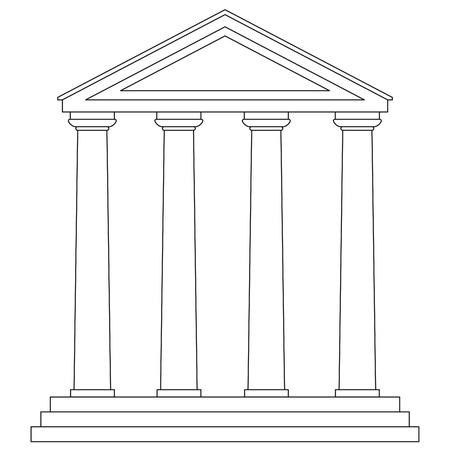templo griego: templo