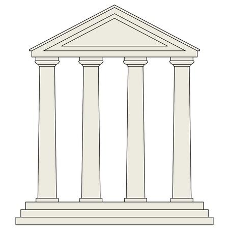 pilastri: Tempio