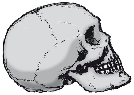 dying: Skull Profile