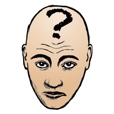questioning: Gesicht Befragung