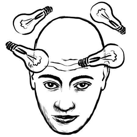 face idea Stock Vector - 10737374