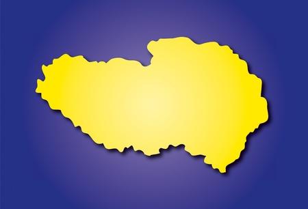 tibet Stock Vector - 10737008