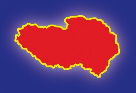 tibet Stock Vector - 10737011