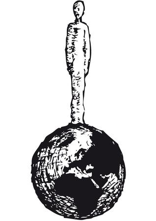 gravedad: El hombre en el planeta