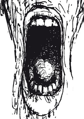 Scream Vector