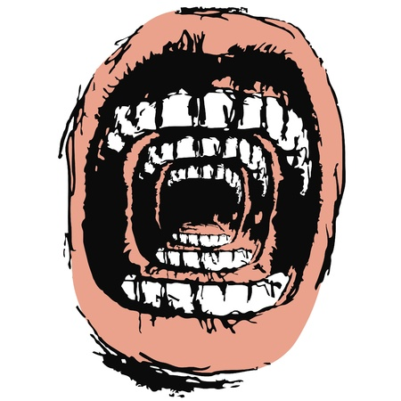 Scream Stock Vector - 10736765