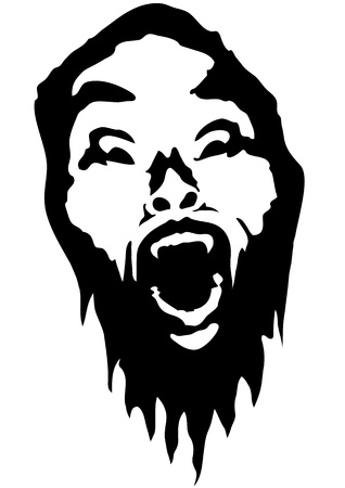 apprehension: vampire Illustration