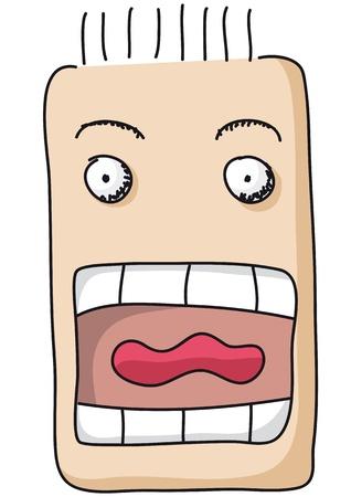 boca abierta: boca abierta