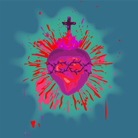 sacred heart Stock Photo - 10736656