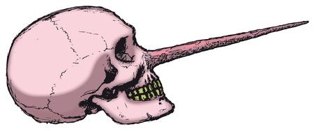 tremendous: Pinocchio Skull