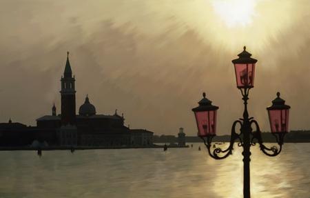 Venice painted photo