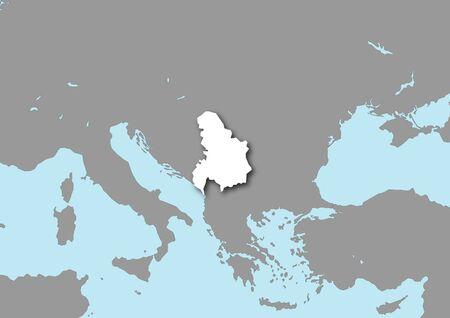 yugoslavia: map yugoslavia