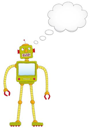 robot that thinks Vector
