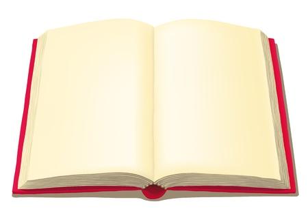 open book Stock Vector - 10816328
