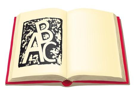 open book Stock Vector - 10816337