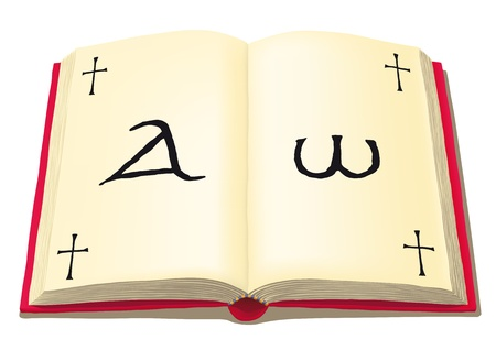 believer: open book Illustration
