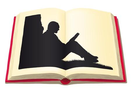 narrative: man who reads