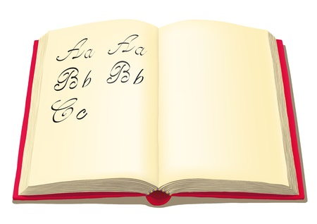 beautiful writing Stock Vector - 10920472