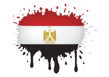 egypt flag: Egypt flag sketches