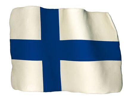 bandera de finlandia: Finlandia, la bandera de la arcilla