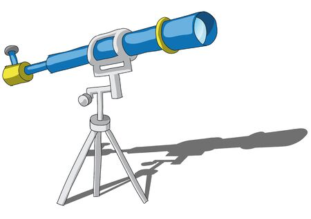 telescope Stock Vector - 11655384
