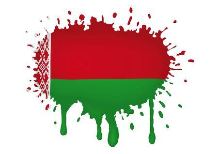 belarus: Belarus flag sketches