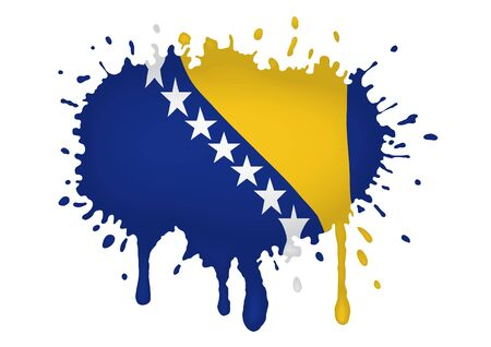 herzegovina: Bosnia and Herzegovina flag sketches