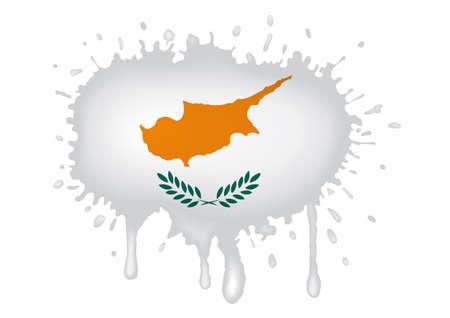 cyprus: Cyprus flag sketches Stock Photo
