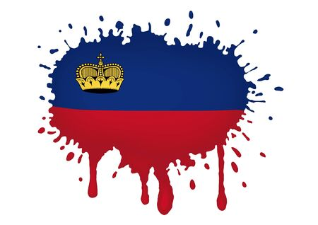 liechtenstein: Liechtenstein flag sketches