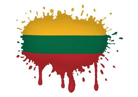 lithuania flag: Lithuania flag sketches