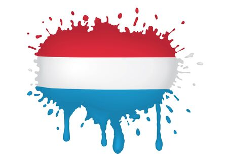 luxembourg: Luxembourg flag sketches