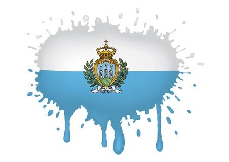 marino: San Marino flag sketches