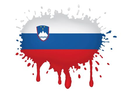 slovenia: Slovenia flag sketches