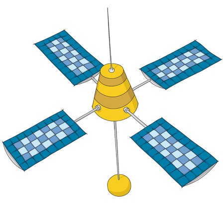 artificial satellite: artificial satellite