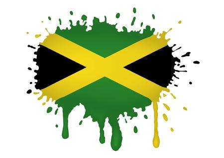 jamaica: Jamaica flag sketches