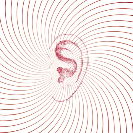 ear  イラスト・ベクター素材