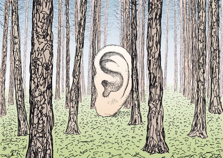 ear Stock Vector - 11882507