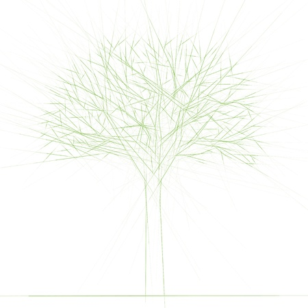 Bare tree Stock Vector - 12479830
